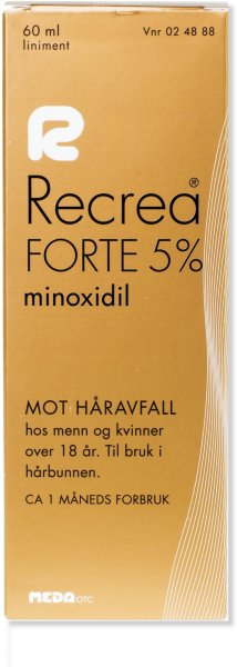 Recrea Forte Liniment 5% 60ml