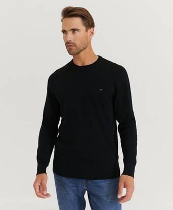 Calvin Klein Superior Wool Crew Neck Sweater