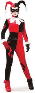 Rubies UK Harley Quinn Deluxe Karnevalsdrakt