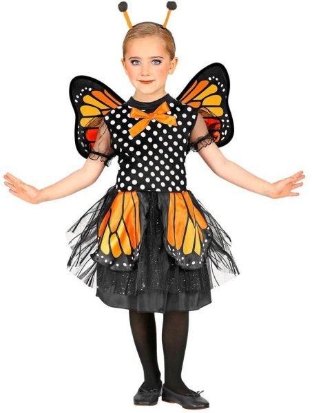 Widmann Sommerfugl Barn Karnevalkostyme