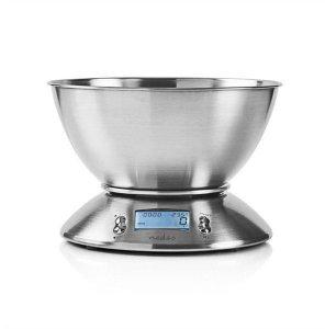 Nedis Digital kjøkkenvekt med temperaturmåler