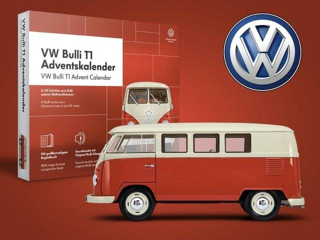 Franzis VW Folkevognbuss T1 adventskalender