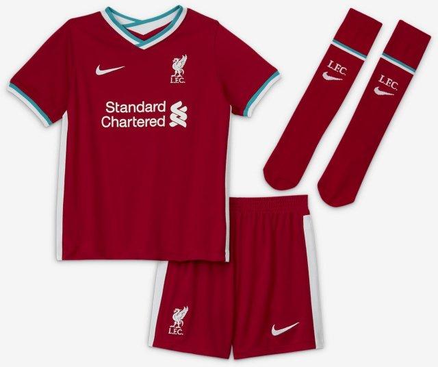 Nike Liverpool Hjemmedrakt 2020/21 (Barn)