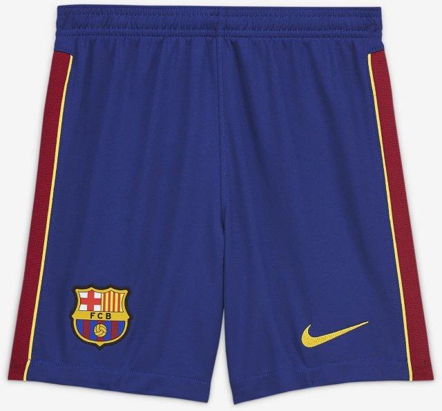 Nike FC Barcelona Stadium Hjemme-/bortedrakt 2020/21 fotballshorts (Barn)