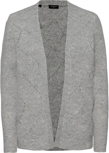 Selected Femme Sif Ls Structure Knit Cardigan