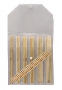 Knitpro Bamboo Strømpepinnesett 20cm