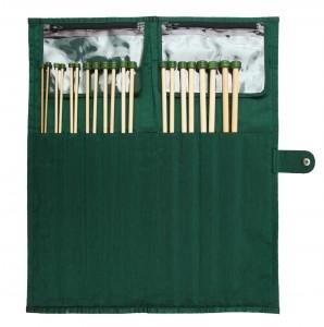 Knitpro Bamboo Genserpinnesett 33cm