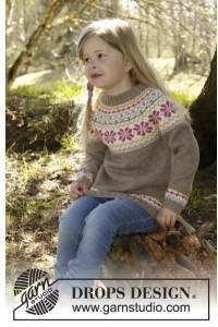 Drops Prairie Fairy Genser Strikkeoppskrift