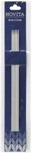Strikkepinner aluminium 20cm