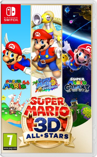 Super Mario 3D All-Stars til Switch