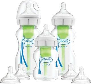 Options Bred-Hals Flaske