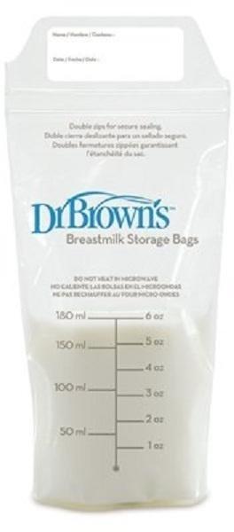 Dr.Brown's Oppbevaringspose morsmelk