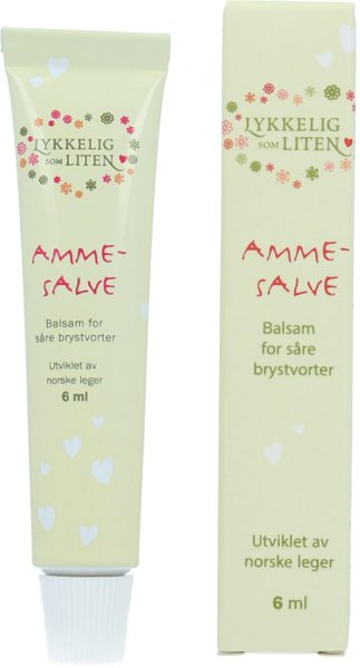 Lykkelig som liten Ammesalve tube (6ml)