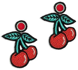 Blush Cherry Earring