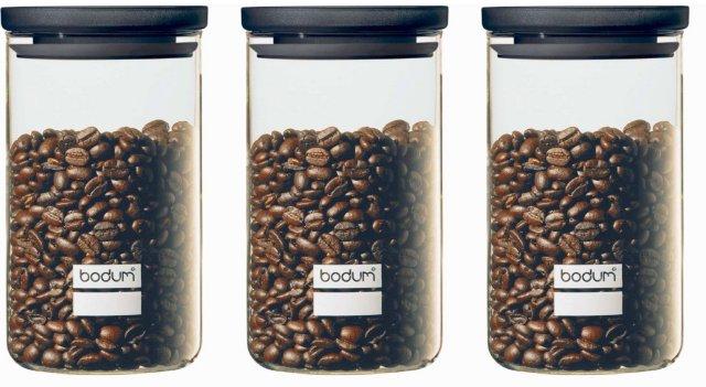 Bodum Yohki Oppbevaringsglass 1L 3 stk