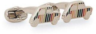 Mini Car Enamel Cufflink