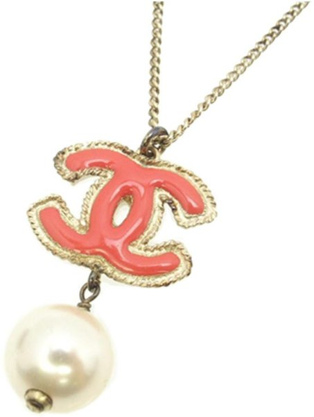 Chanel Vintage Faux Pearl Necklace