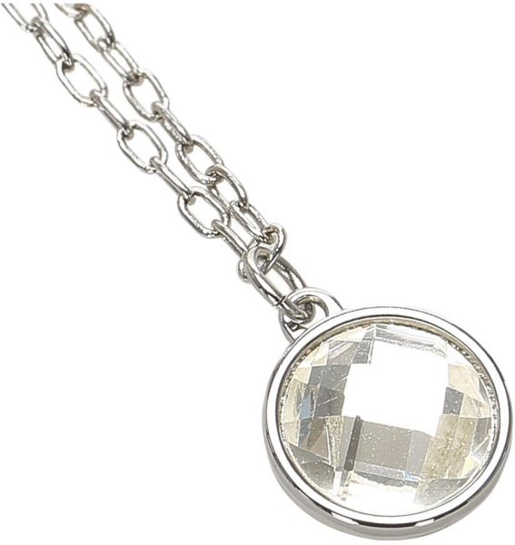 Dior Vintage Silver-Tone Charms Necklace