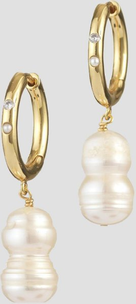 Anni Lu Earring Diamonds and Pearls O
