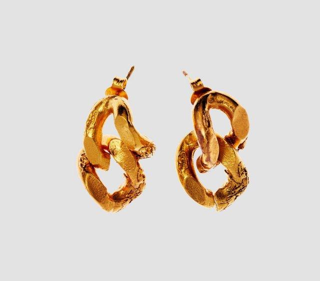 Alighieri Earrings The Fractured Link