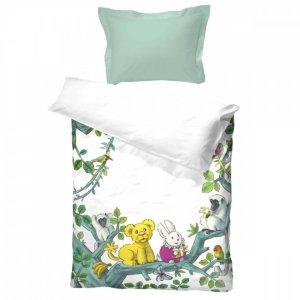 Karsten og Petra i jungelen sengesett