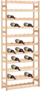 Vinstativ for 77 flasker