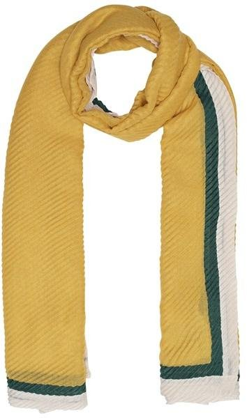 Only Vice Weaved Pleated Scarf