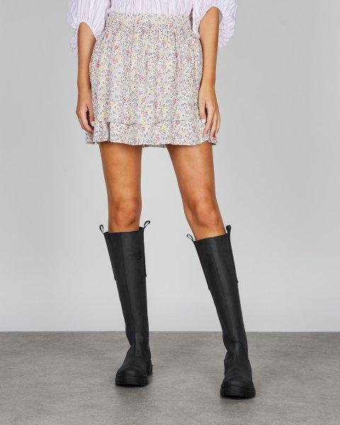 Ganni Skirt Printed Georgette
