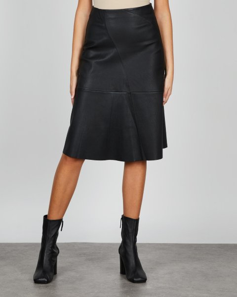 By Malene Birger Leather Skirt Chavelly