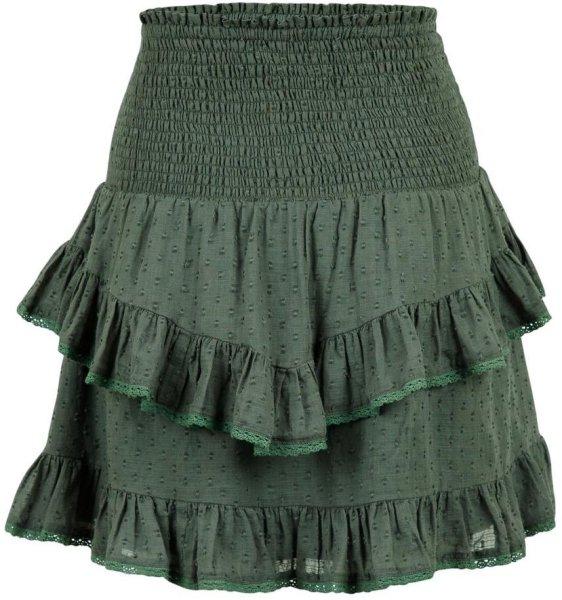 Neo Noir Line Dobby Skirt