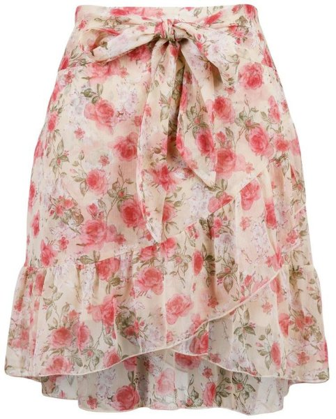 Neo Noir Bella Dusty Flower Skirt