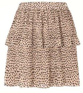 Leona flounce skirt