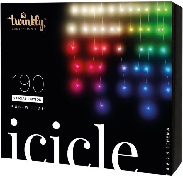 Twinkly Icicle 190 Special Edition RGB+W LEDs