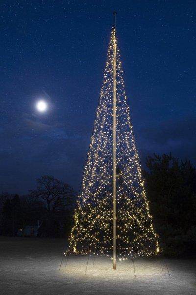 Fairybell Flaggstang julebelysning 4000 LED