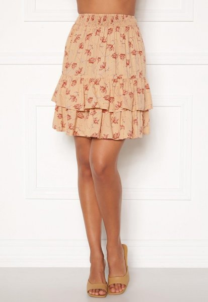 Pieces Coll MW Skirt