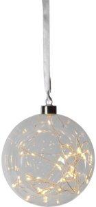 Star Trading Glow glasskule 15cm