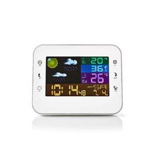 Trådløs værstasjon og klokke med alarm 402WT