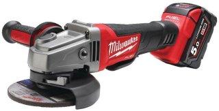 Milwaukee M18 CAG125XPD-502X (2x5,0Ah)