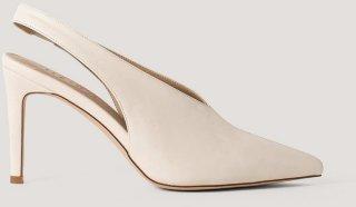 NA-KD Shoes Seam Detailed Slingback Pumps