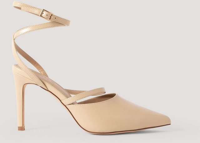 NA-KD Shoes Ankle Straps Pointy Pumps