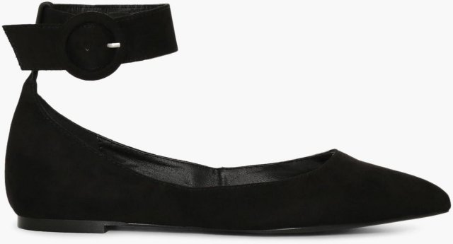 NLY Shoes Pointy Buckle Ballerina