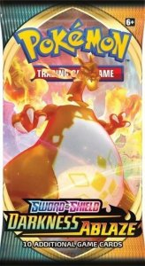 Pokémon Sword & Shield: Darkness Ablaze Booster