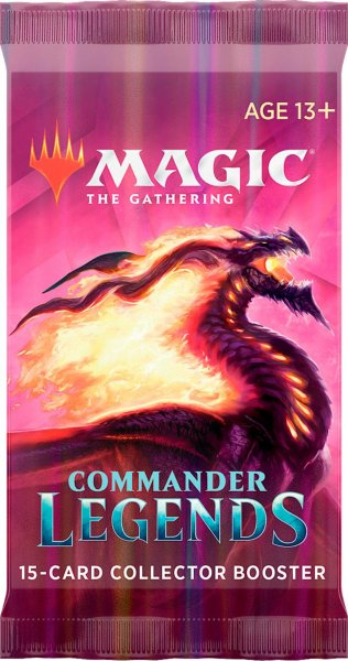 Magic: The Gathering Commander Legends Collector Booster