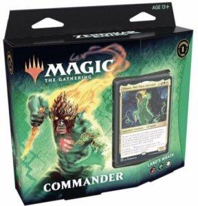 Zendikar Rising Lands Wrath Commander Deck