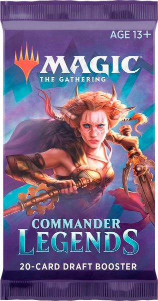 Magic: The Gathering Commander Legends Draft Booster