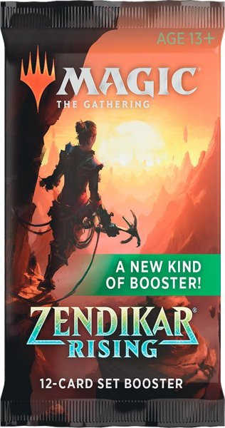 Magic: The Gathering Zendikar Rising Set Booster