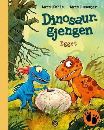 Kagge Forlag Egget: Dinosaurgjengen