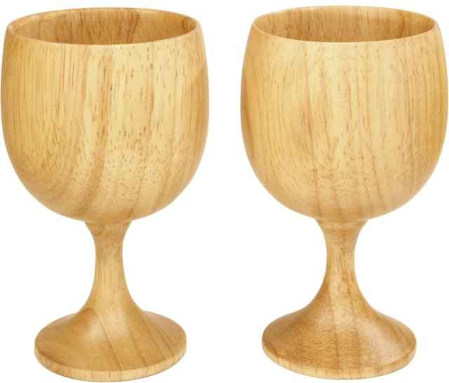 Eagle Products Wooden Wine Glass