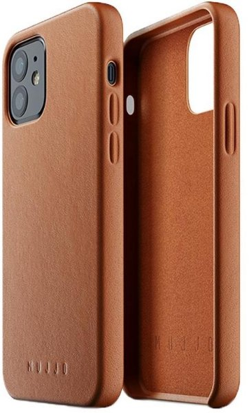 Mujjo Premium Skinndeksel iPhone 12 Mini