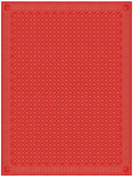 Ekelund Åttebladrose duk 150x260cm